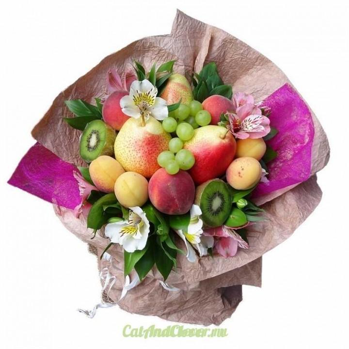 Кемерово заказать букет из фруктов, 101 розы киев