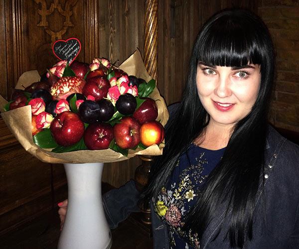 Букет из фруктов в Волгограде