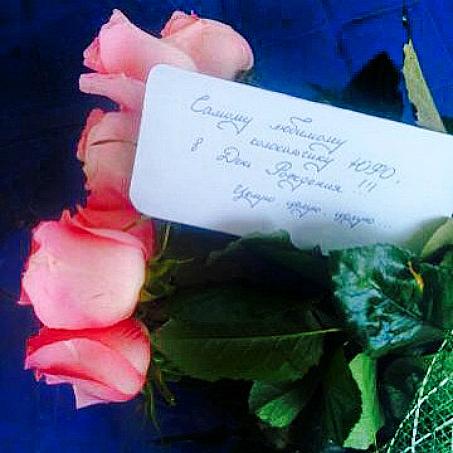 Букет розовых роз в Волгограде